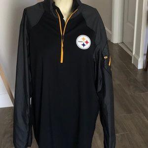 Nike Dri-Fit Steelers Pullover Jacket NWOT XL